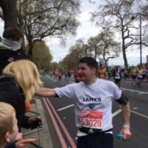 James marathon 4